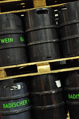 DSC_3664 [ps] - Bad Wine (Anyhoo) Tags: writing germany deutschland vineyard stencil wine drum text barrel winery german lettering freiburg baden wein labelled stencilled badenwürttemberg allcaps freiburgimbreisgau badischer anyhoo photobyanyhoo sonnenstück sonnenstueck