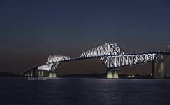 Tokyo Gate Bridge  (Alpha 2008) Tags: bridge sunset sea japan night landscape tokyo sony  alpha              tokyogatebridge