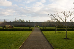 Duckett's Grove garden December 29 2014 (backpackphotography) Tags: ireland detail castle architecture ruins ruin mansion gothicrevival carlow duckettsgrove