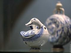 British Museum: Huqqa-pipe base duck (Jeff G Photo - 2m+ views! - jeffgphoto@outlook.com) Tags: museum ceramic persian duck ceramics iran iranian britishmuseum huqqa