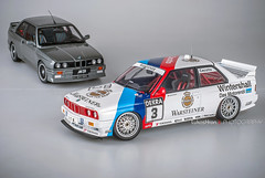 BMW E30 M3 DTM 1991 CECOTTO #3 and BMW E30 M3 Evolution Cecotto Edition (Lukas Hron Photography) Tags: 3 model evolution bmw 1991 m3 dtm edition e30 118 diecast autoart cecotto
