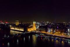 London Big Ben - UK Parliament (ddavidian) Tags: birthday london lights evening photo girlfriend guitar londoneye parliament carousel celebration buskers fujifilm oxotower 18mm xpro1