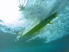 water project #91: pipeline hand drag (bluewavechris) Tags: ocean sunset sea water fun drag hawaii surf underwater hand ride oahu action surfer tube pipe barrel wave northshore surfboard haleiwa swell pipeline fins pupukea banzaipipeline knekt gopro