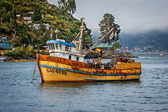 Barco Pesquero (Ricardo Gomez Z.) Tags: chile barco corral valdivia pesquero