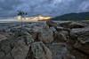 Langkawi Cloudy Sunset (Shamsul Hidayat Omar) Tags: sunset tourism beach landscape photography high interesting nikon scenery dynamic cloudy shoreline places scene malaysia langkawi omar range muddy hdr d3 kedah hidayat greatphotographers shamsul photoengine oloneo