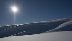 (Jahoa12) Tags: sol norge vinter himmel sne fjeld bl landskab hovden bjerg austagder bykle