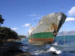 Nasukani brod . . (T.J. Jursky) Tags: canon europe croatia split adriatic dalmatia spinut tonkojursky