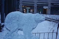 Icefest 34 (codie_horse) Tags: toronto statues talent wintertime yorkville icecarving frozenintime 2015 ancientegyptian blooryorkville 10thyear madeofice 10thannualicefest icefest15 bloorandyorkville