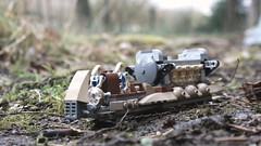 Troop carrier (melix200) Tags: snow trooper dark army star war photographie tank lego battle assault turbo 501st anakin wars clone rt droid commando skywalker moc vador mustafar at