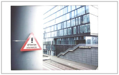 Attention à la marche (byNath) Tags: lille ville immeuble urbain instax instantané fujiinstaxmini90néoclassic