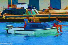 En la proa (dapray) Tags: geostate geocountry barca puerto vilanova pesca bote geltru