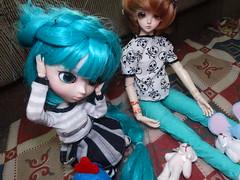 Dimenses [04/06] (Meteor-a) Tags: bjd ball jointed doll pullip cute kawaii hatsune miku minzy magic time miro connor femboy galinha pintadinha