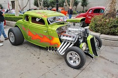 2016 Grand National Roadster Show (USautos98) Tags: 1933 ford roadster hotrod streetrod kustom ratfink flames grandnationalroadstershow gnrs pomona california
