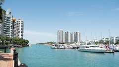 Out and about in Sentosa Cove (Merrillie) Tags: nikon water buildings d5500 sentosacove sea scenery highrises boats photography sentosa singapore waterscape condominium apartments landscape outdoors