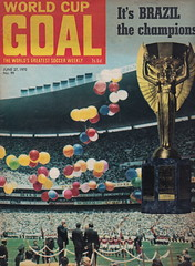 Goal Magazine - 27/06/1970 - Cover Page (The Sky Strikers) Tags: goal magazine world cup special mexico 1970 greatest soccer weekly magzine 1s 6d