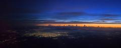 Puebla, Mexico (ruimc77) Tags: city urban panorama naturaleza sol nature mxico sunrise mexico nikon pano aviation natureza 28mm aerial nikkor puebla f28 ais nascer nacer aviacao d810 aviavion
