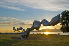 July 5, 2011 (slidefarmer2015) Tags: biennale ea kitsilano parksvancouver publicart sculpture sunset vancouver vancouverbc vrki vrpk vrrl2