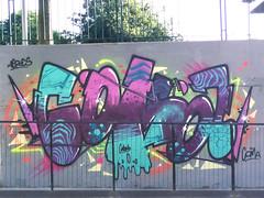 fluo mood (aeroescrew) Tags: wall graffiti perugia coma fluo 2016 aeroes aeroescrew