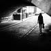 Sunday morning - Dublin, Ireland - Black and white street photography