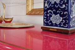 2016 0716 Peony French Provincial_Full Size-5 (Phoenix Restoration | Furniture by Christina) Tags: seattle pink baby phoenix by french furniture christina nursery magenta peony moore hollywood restoration benjamin dresser sideboard regency provincial edmonds lacquered
