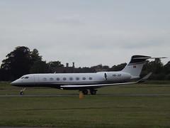 HB-JUF Gulfstream G650 Swiss Jet AG (Aircaft @ Gloucestershire Airport By James) Tags: james airport swiss jet oxford ag lloyds gulfstream bizjet g650 egtk hbjuf