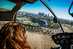20160721 DTLA Aerial -15 (Tony Castle) Tags: aerial photography helicopter heli canon 5diii sony a7rii mirrorless sigma mc11 converter sky city la dtla los angeles traffic