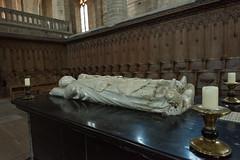 Tombeau de Clment VI (1292 - 1352) (MrBlackSun) Tags: france abbey nikon auvergne clement abbaye abbatiale hauteloire d810 saintrobert chaisedieu nikond810 clementvi