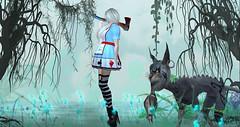 Alice in Wonderland by Essence (VeraCruza) Tags: essence alice wonderland paulaklein artwork secondlife sl slfashion slblues hunt urworld flickrunitedaward flickr fashionart