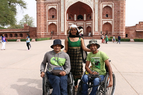 Accessible Tour of Agra: Time to visit one of the seven wonders-Taj Mahal