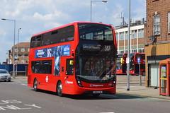 SN16 OJW (10316) Stagecoach London (hotspur_star) Tags: londontransport londonbuses londonbus londonbuses2016 alexanderdennisltd enviro400mmc tfl transportforlondon hybridbus hybridtechnology busscene2016 doubledeck stagecoachlondon sn16ojw 10316 387