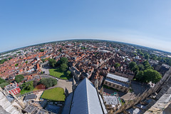 The City of York, UK (WOLFE) Tags: york yorkshire city architecture cities uk fisheye samyang rokinon 12mm f28 yorkminster minster cathedral northyorkshire panorama day outdoors sunshine sunny landscape cityscape nikond600 wideangle england