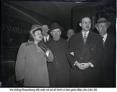 Ethel & Julius Rosenberg  Soviet Atomic Spies (4) (ngao5) Tags: americans communist crime ethelrosenberg execution females group judicialproceedings juliusrosenberg males marxist people punishment spy treason trial trialofjuliusandethelrosenberg whites