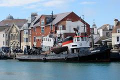 IMG_7274 - Dunkirk Film Set - Weymouth - 28.07.16 (Colin D Lee) Tags: christophernolan warnerbros studio hollywood movie film set dunkirk weymouth quay dorset worldwar2 filming tug
