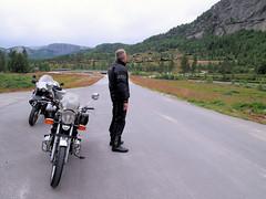 At Brokke. (topzdk) Tags: motorcycle mc norway honda bmw nature solvgardencottages brokke rysstad 2016 summer