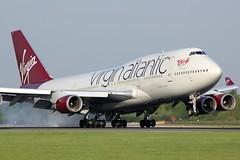 G-VXLG (AnDrEwMHoLdEn) Tags: virginatlantic virgin 747 egcc airport manchester manchesterairport 05r
