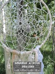 DC.Angel 01d (zreekee) Tags: dreamcatcher angel sparkledoomdesigns saskatchewan beadwork netting handmade