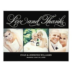 (Love and Thanks | Black Wedding Thank You Card) #Black, #Classic, #Ivory, #LoveAndThanks, #Monogram, #Photo, #Photos, #Script, #Thank, #ThankYou, #Wedding, #You is available on Custom Unique Wedding Invitations store http://ift.tt/2aL3IYX (CustomWeddingInvitations) Tags: love thanks | black wedding thank you card classic ivory loveandthanks monogram photo photos script thankyou is available custom unique invitations store httpcustomweddinginvitationsringscakegownsanniversaryreceptionflowersgiftdressesshoesclothingaccessoriesinvitationsbinauralbeatsbrainwaveentrainmentcomloveandthanksblackweddingthankyoucard weddinginvitation weddinginvitations