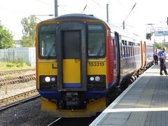153319 at Newark Northgate (15/8/16) (*ECMLexpress*) Tags: east midlands trains class 153 sprinter dmu 153319 newark northgate ecml
