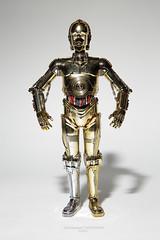 mindless philosopher (gruesomesonofabitch) Tags: disney bandai gundam modelkit model toy figure starwars droid robot scifi c3po