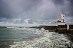Signals to the sea (daedmike) Tags: arbroath angus scotland harbour signaltowermuseum tower lighthouse