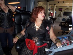 Lady of The High Council (stevenighteagle) Tags: klingons startrek starfleet trekkies scifi interiors tos tng ds9 voy ent guffey colorado