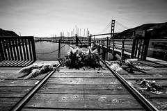 IMG_3890 (NinjaWeNinja) Tags: canon 6d 1634 wide angle black white blackandwhite sf san francisco sanfrancisco contrast fort baker fortbaker golden gate bridge goldengatebridge california high