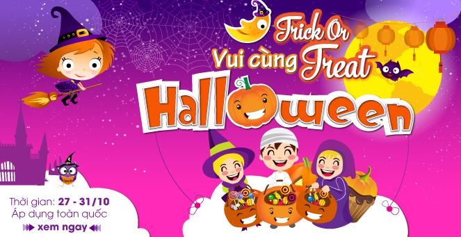 Trick or Treat: Vui Cùng Halloween - Ưu đãi siêu giảm giá mùa Halloween cùng TutiCare. ( 27 - 31/10)
