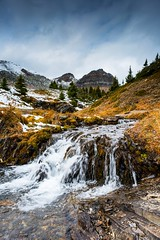 Helen River (jfusion61) Tags: aberta canada candian rockies helen lake hike trail river clouds nikon d810 24mm fall morning f18 icefield parkway lee graduated filter