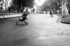 Longboard (Guilherme Nicholas) Tags: guilhermenicholas longboard skate skating slide blackandwhite bw monochrome streetphotography street streets