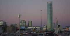 Brave New World (blueteeth) Tags: highrise futuristic freeway traffic rushhour sanfrancisco california