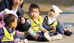 Seoul Plaza (Robert Borden) Tags: asia southkorea seoul seoulplaza parade children cute people candid canon street travel