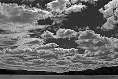 jersey sky (BehindBlueEyes) Tags: nj newjersey sparta sussexcounty bw lakemohawk sky