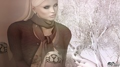 To keep a warm heart in a cold world is the real victory.... (Mischa~~ SL Destinations R Us) Tags: glamaffair catwa gizza reverie kustom9 collabor88 mait theseasonsstory arte entwined maitreya
