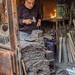 Fabricating iron skewers - Gaziantep City - Turkey